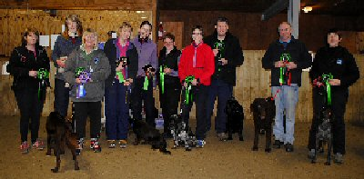 2012 Gundog League winners