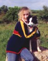 Junior handler Claire Stone & and her deaf dog Chess