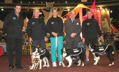 World Champons 2004 South Africa Large Dog Team
