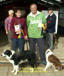 Bob & Hannah - WInners of the Lasers Pairs