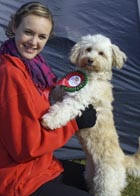 Ashleigh & Buffy - Scruffs 2009 Prettiest Crossbreed