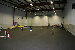 50 x 100ft training area that's air conditioned and heated