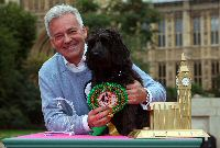 Alan Duncan with Noodle - winner